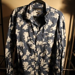 Men's Banana Republic Floral Button Up